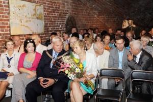 """Kultūros magistro pagerbimo ir """"Vėtrungių"""" teikimo ceremonijoje dalyvavo garbūs klaipėdiečiai."""