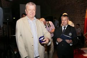 "J.Šikšneliui teko RK ""Concordia 1826"" apdovanojimas."